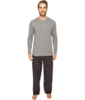 Jockey - Flannel Sleep Pant & Jersey Henley Box Set