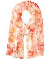 Calvin Klein - Floral Haze Chiffon Scarf
