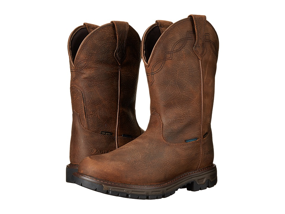 Ariat Conquest WP Insulated (Rye Brown) Men