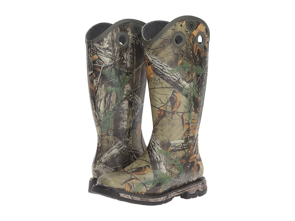Ariat Conquest Rubber Buckaroo (Realtree) Men's Work Boots