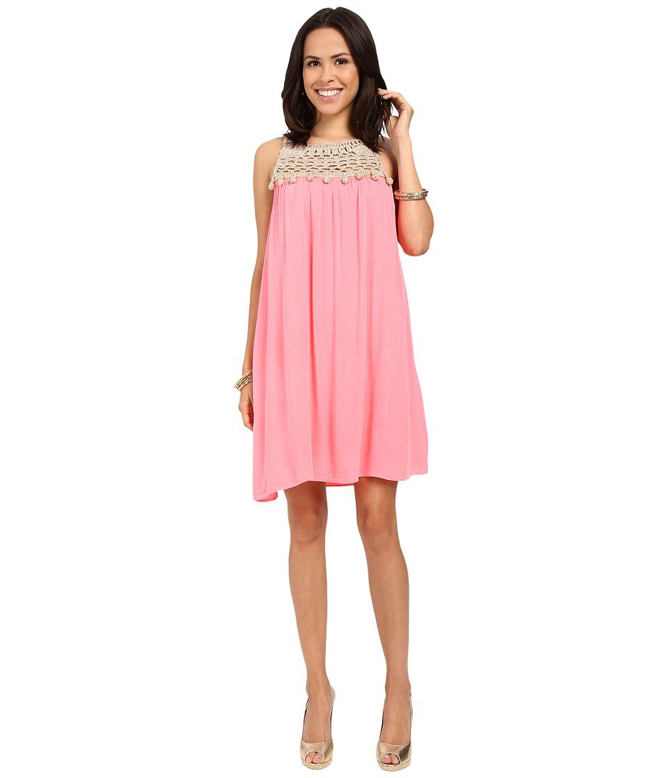 Lilly Pulitzer Rachelle Dress (Pink Sun Ray) Women