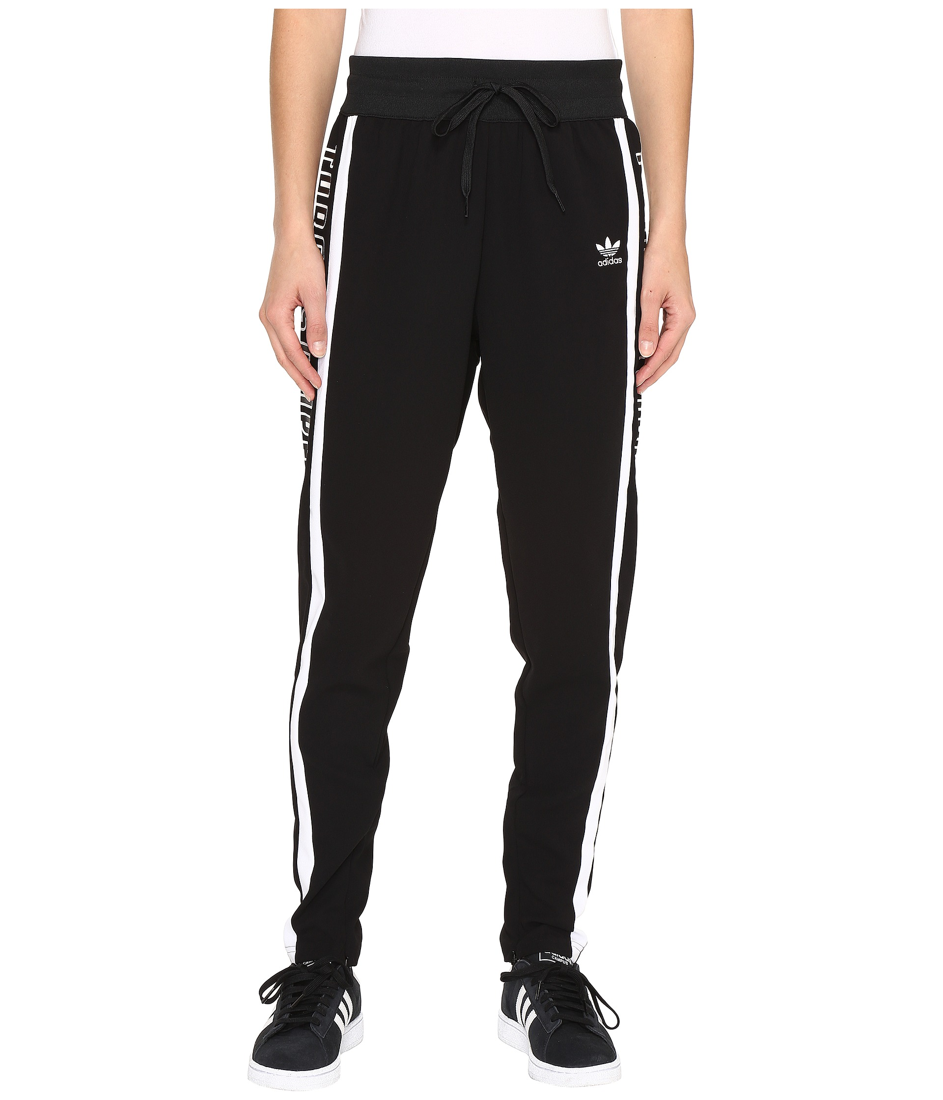 adidas 3 stripe track pants