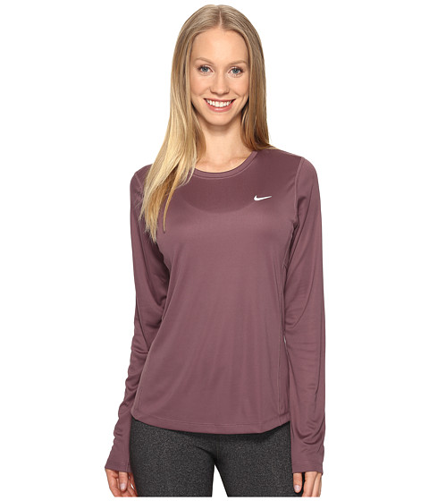 Nike Dri-FIT™ Miler L/S Running Top - Purple Shade