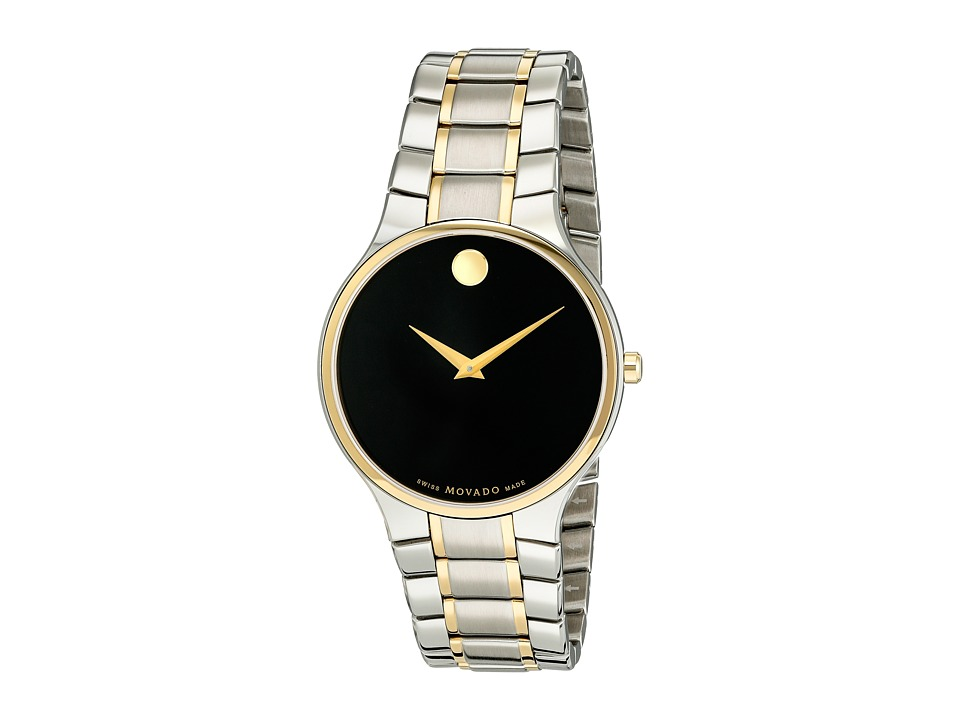 Movado Serio 0606901 Stainless Steel/Gold PVD Watches