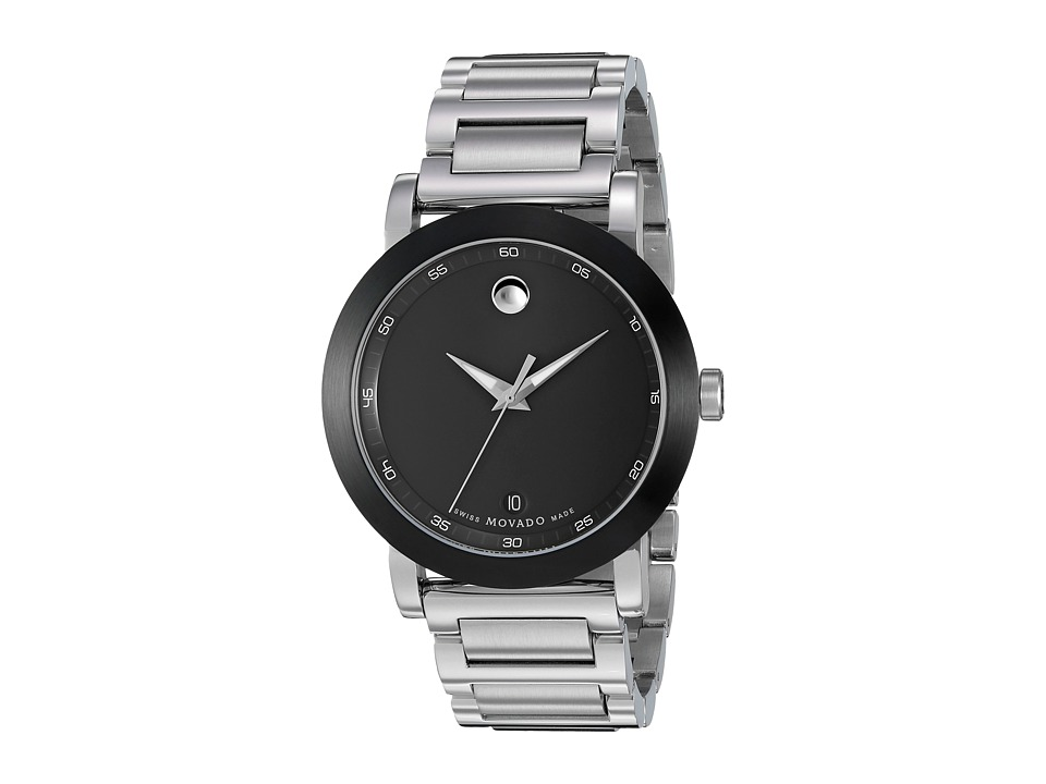 Movado - Museum Sport - 0606604 (Black PVD/Stainless Steel) Watches