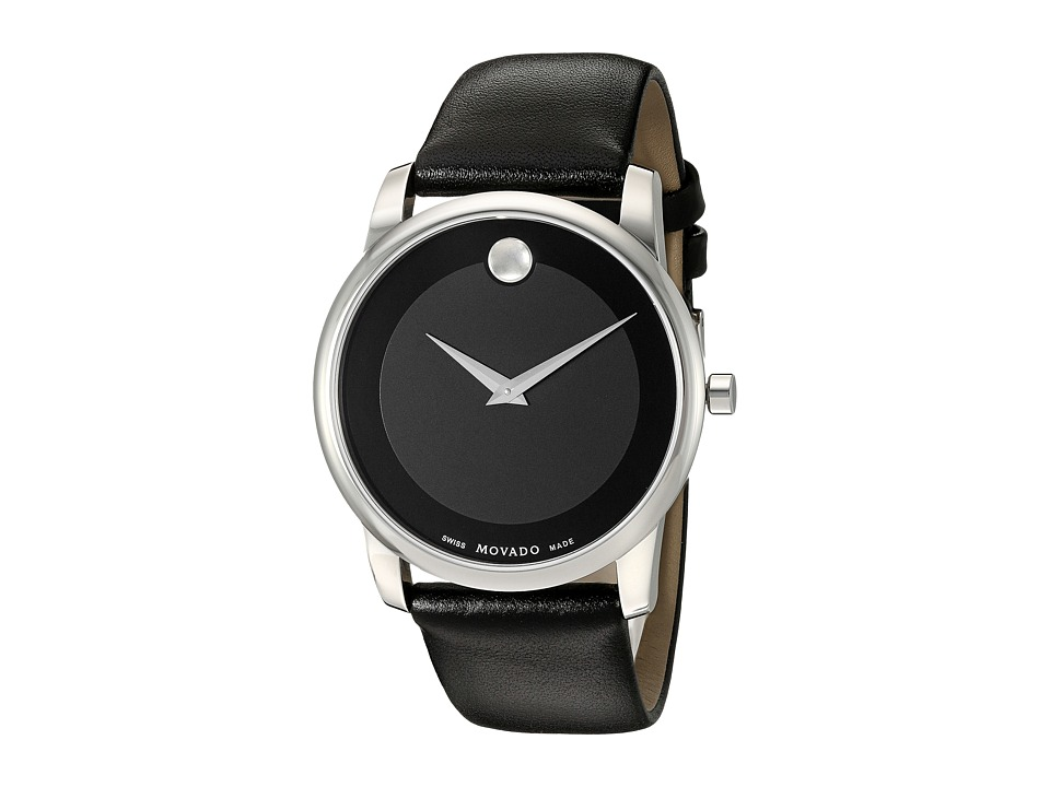 Movado Museum Classic - 0606502 (Solid Stainless Steel) W...