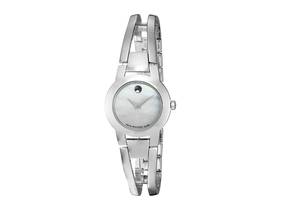 Movado Amorosa 0606538 Solid Stainless Steel Watches
