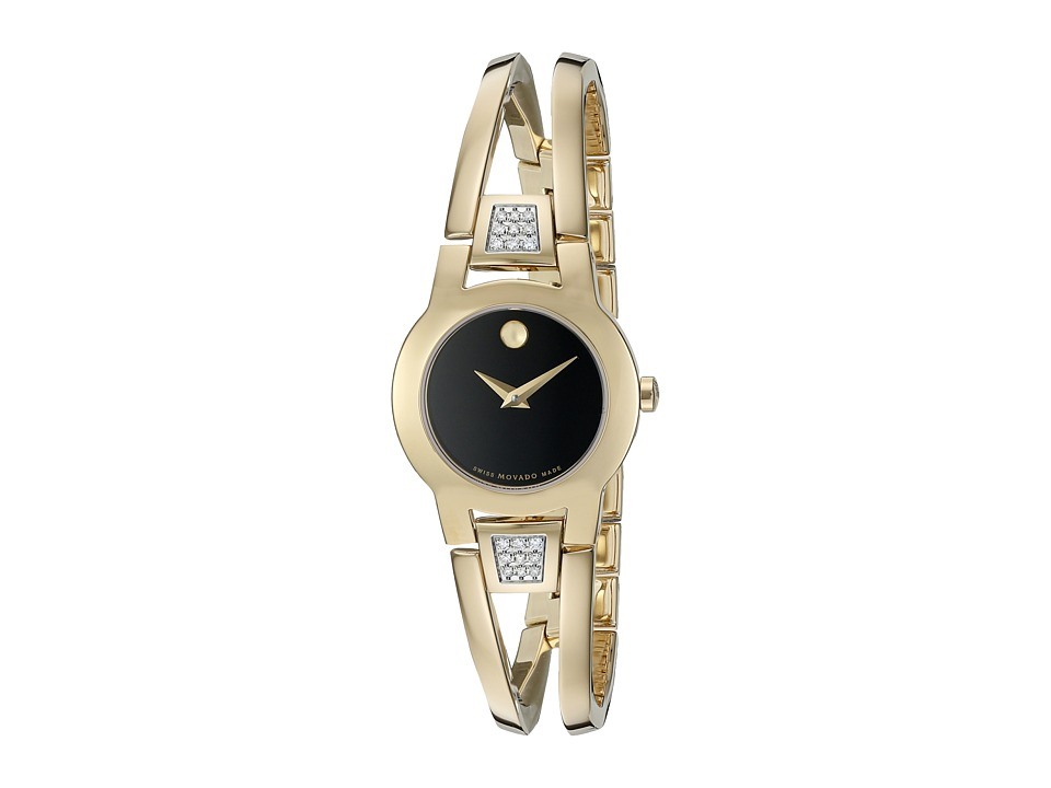 Movado Amorosa 0606895 Gold PVD Watches