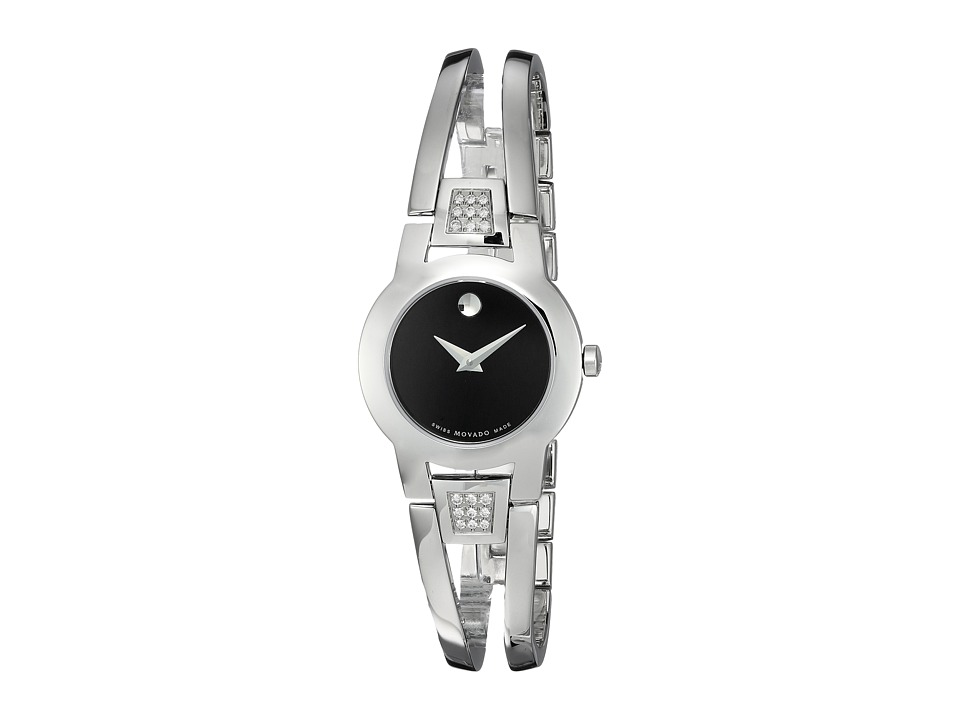 Movado Amorosa 0604982 Solid Stainless Steel Watches