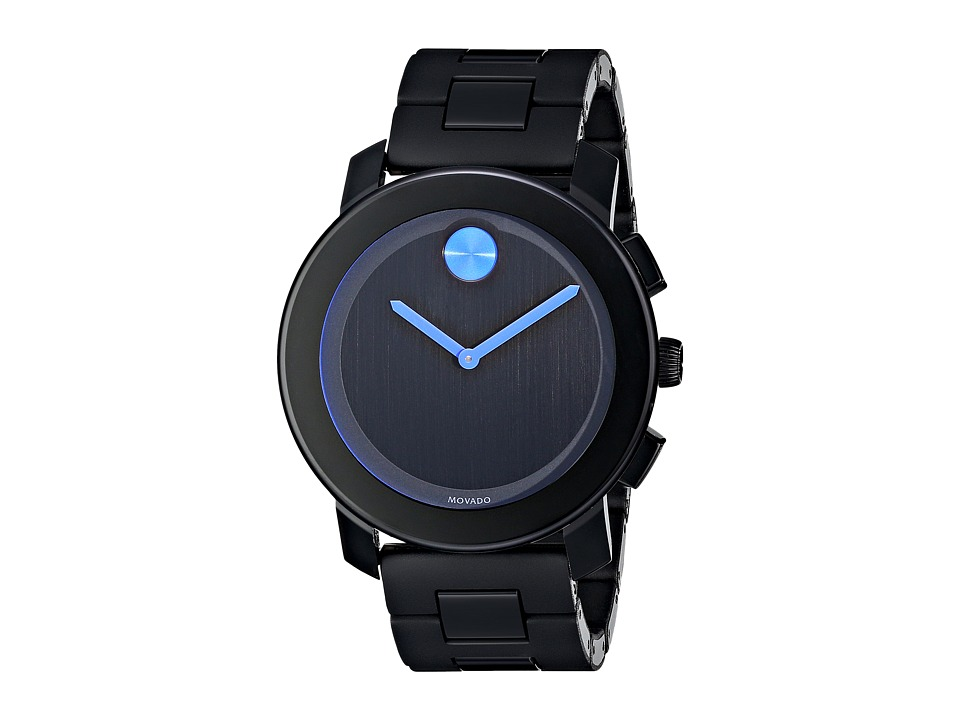 Movado Bold 3600099 Black TR90/Stainless Steel Watches