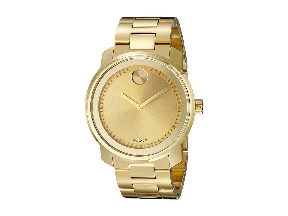Movado Bold - 3600258 (Ionic Gold Plated Steel) Watches