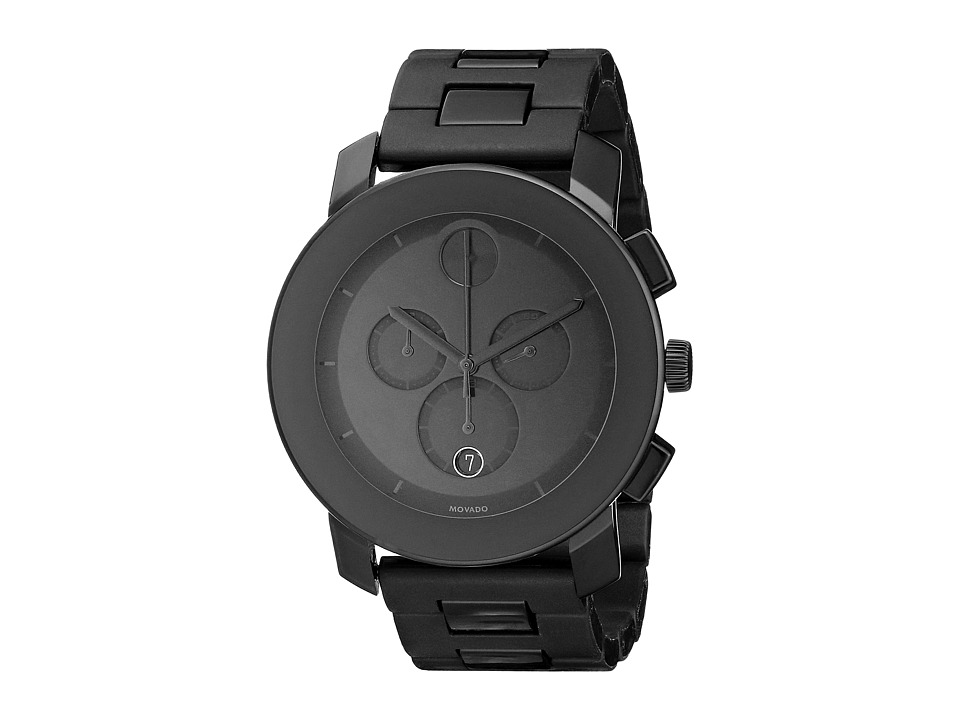 Movado - Bold - 3600048 (TR90 Composite Material/Stainless Steel) Watches