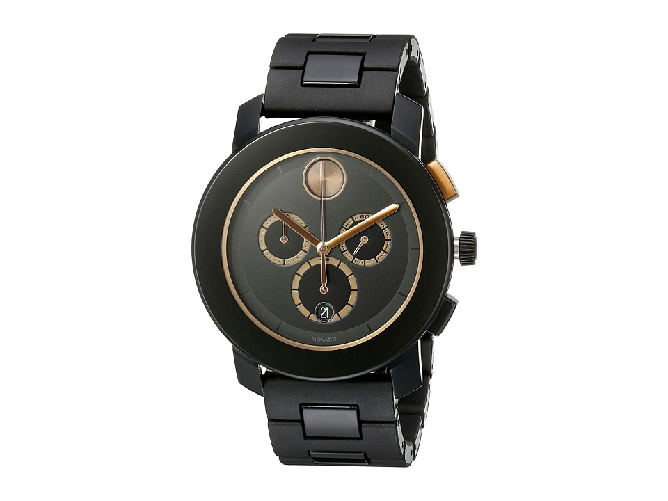Movado Bold 3600271 Black TR90/Stainless Steel Watches