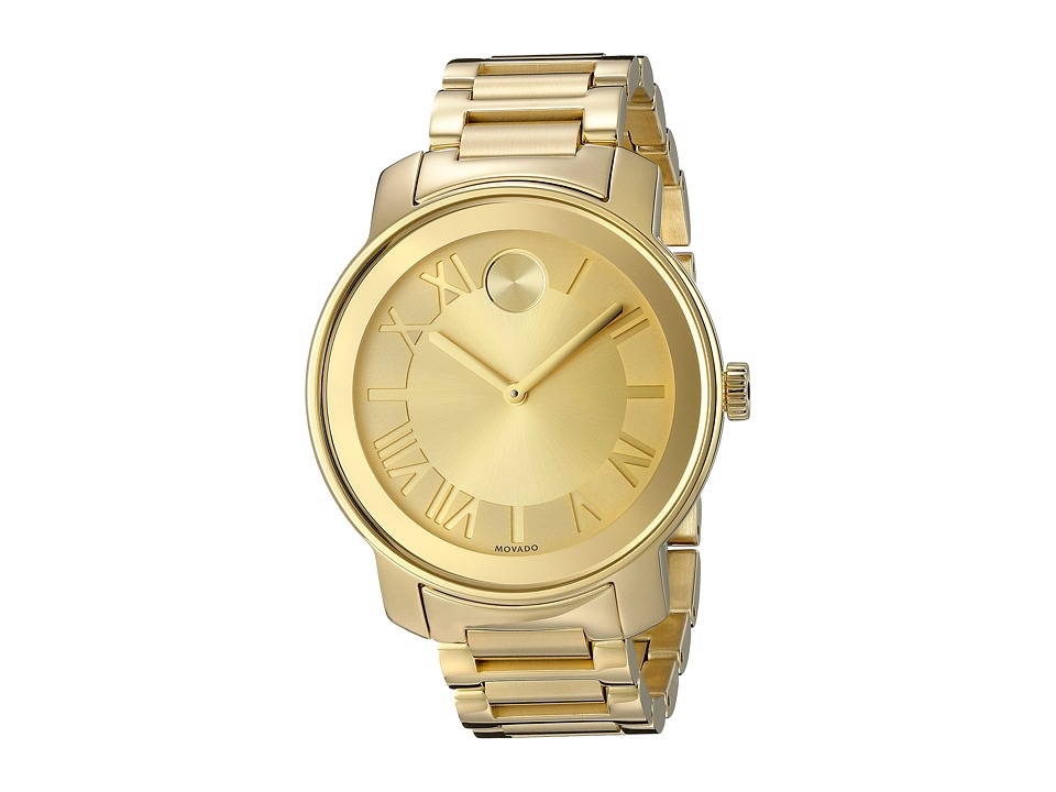 Movado Bold 3600197 Ionic Gold Plated Steel Watches