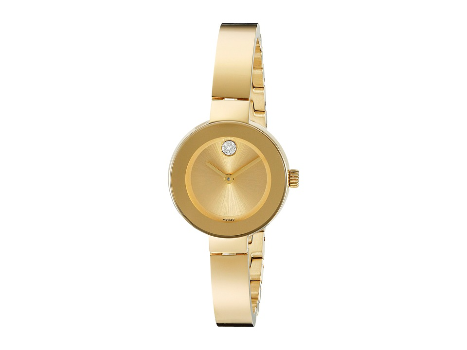 Movado Bold - 3600285 (Ionic Gold Plated Steel) Watches