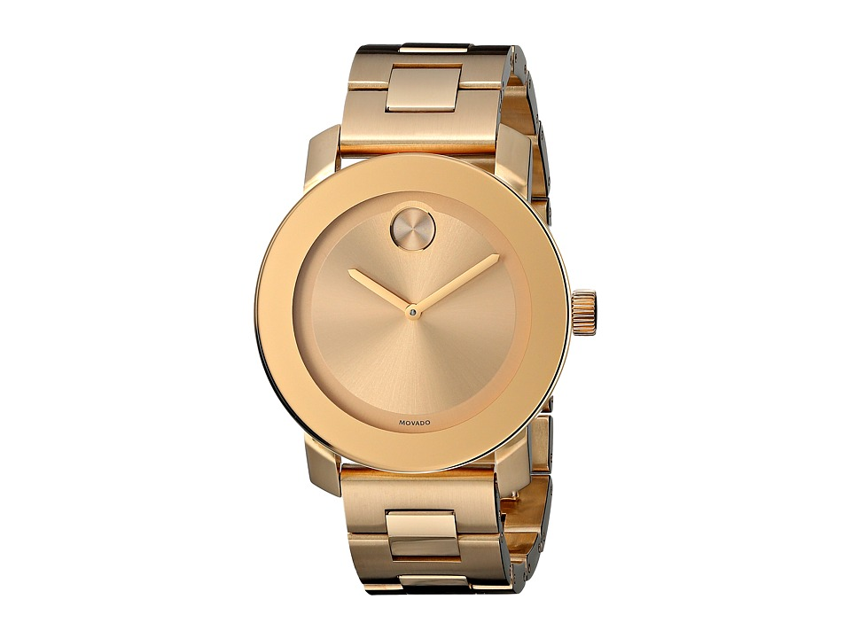Movado Bold 3600085 Ionic Gold Plated Steel Watches