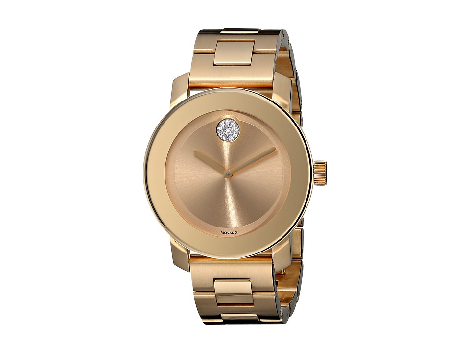 Movado Bold 3600104 Ionic Gold Plated Steel Watches