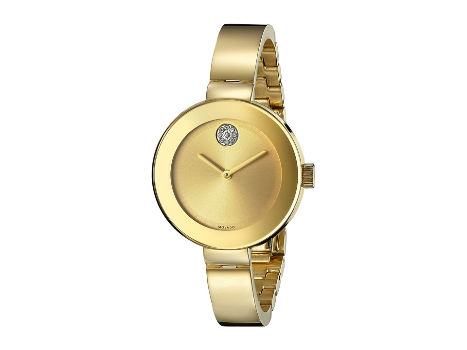 Movado - Bold - 3600201 (Ionic Gold Plated Steel) Watches