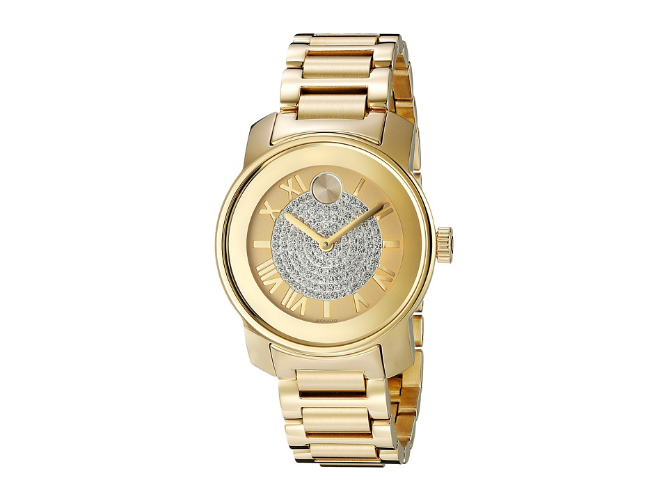 Movado Bold - 3600255 (Ionic Gold Plated Steel) Watches