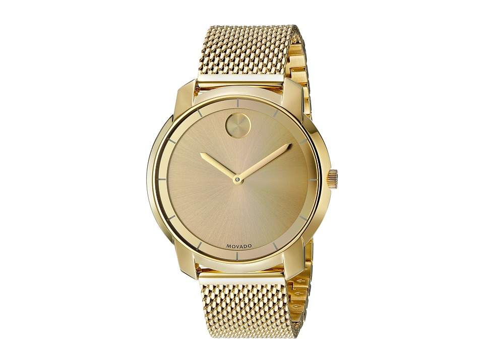 Movado - Bold - 3600242 (Ionic Gold Plated Steel) Watches
