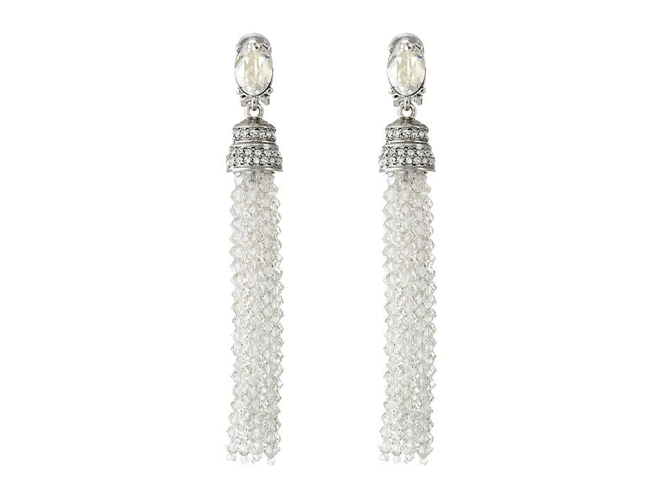 Oscar de la Renta - Crystal Tassel C Earrings
