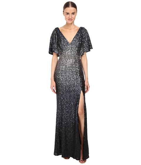 Marchesa Notte Ombré Sequin Gown