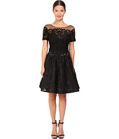 Marchesa Notte - Brocade Cocktail with Pockets