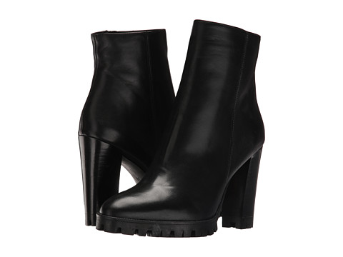The Kooples Anne Boots - Classic Black Smooth Leather