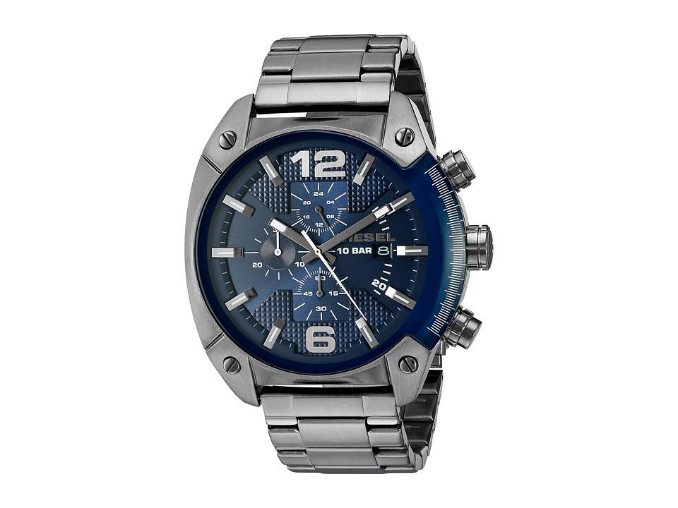 Diesel Overflow - DZ4412 (Gunmetal) Watches