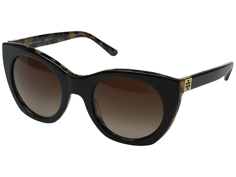 Tory Burch 0TY7097 - Black/Tortoise/Dark Brown Gradient