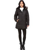 KC Collections - Quilted Puffer with PU Trim