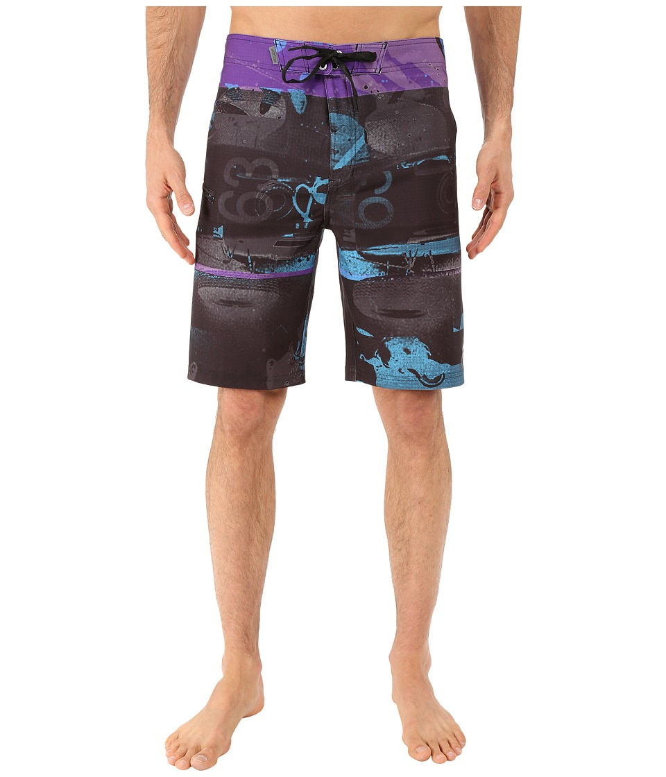 Alpinestars Glitch Boardshorts Black Mens Swimwear