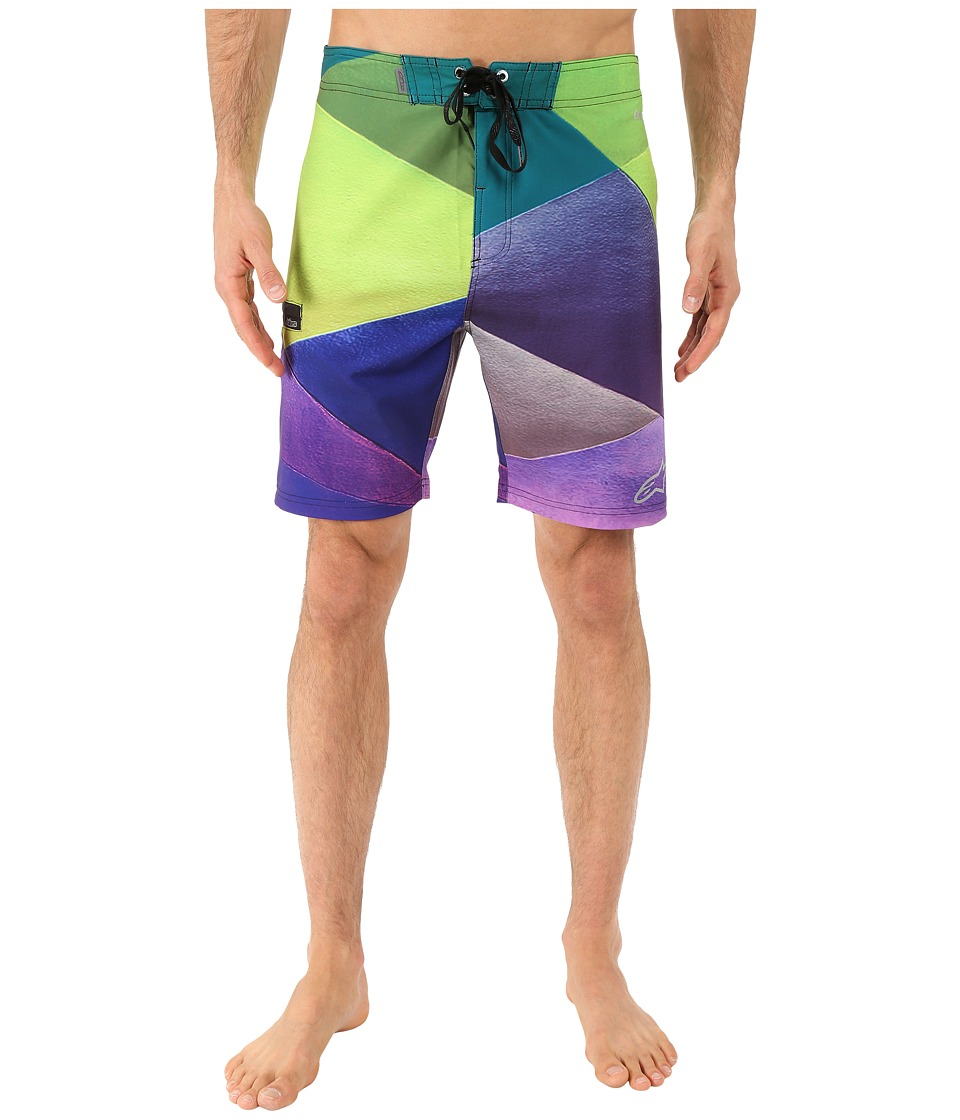Alpinestars Facet Boardshorts Purple Mens Swimwear
