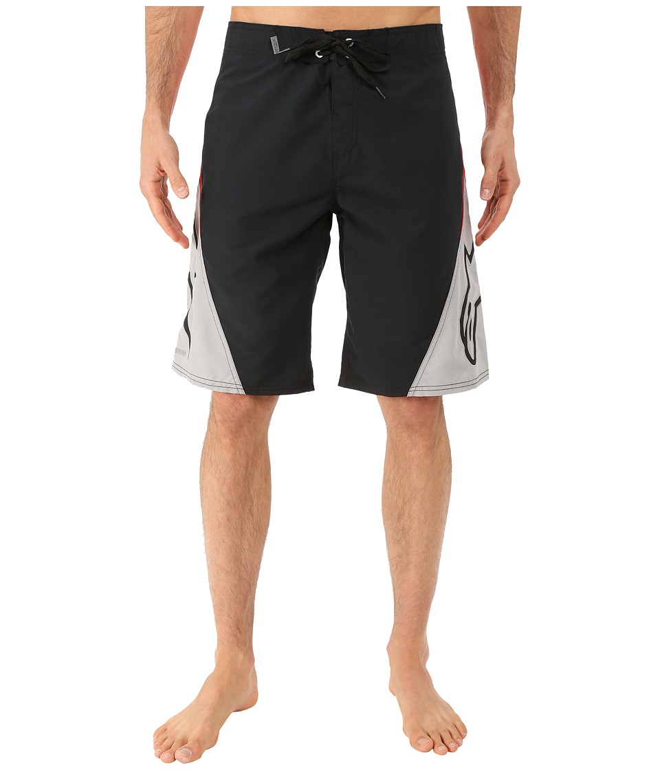 Alpinestars The Arrival Boardshort Black/Red Mens Swimwear
