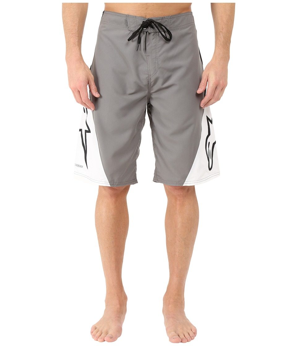 Alpinestars The Arrival Boardshort Charcoal/White Mens Swimwear