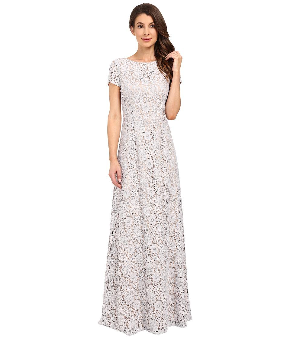 Donna Morgan Alice Cap Sleeve Dress (Platinum) Women