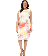 Calvin Klein Plus - Plus Size Zip at Yoke Dress