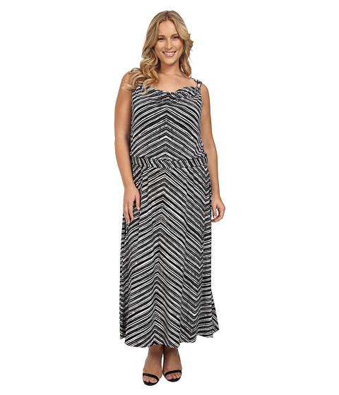 Calvin Klein Plus Plus Size Maxi Dress w/ Hardware