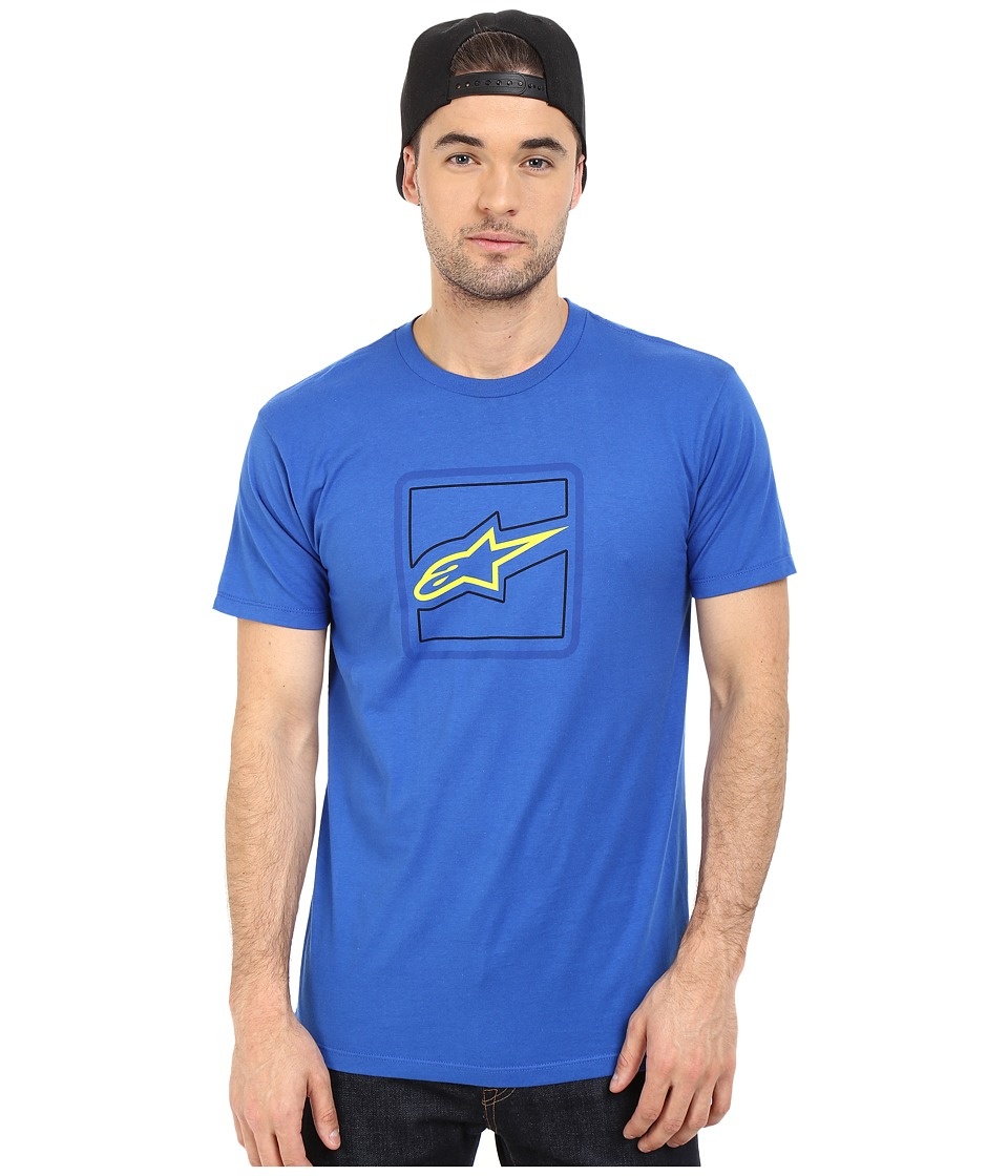 Alpinestars Elevation Tee Royal Blue Mens T Shirt