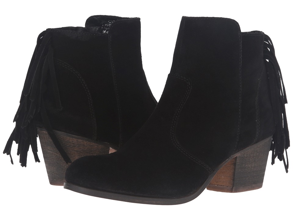 Matisse - Espana (Black Leather Suede) Women