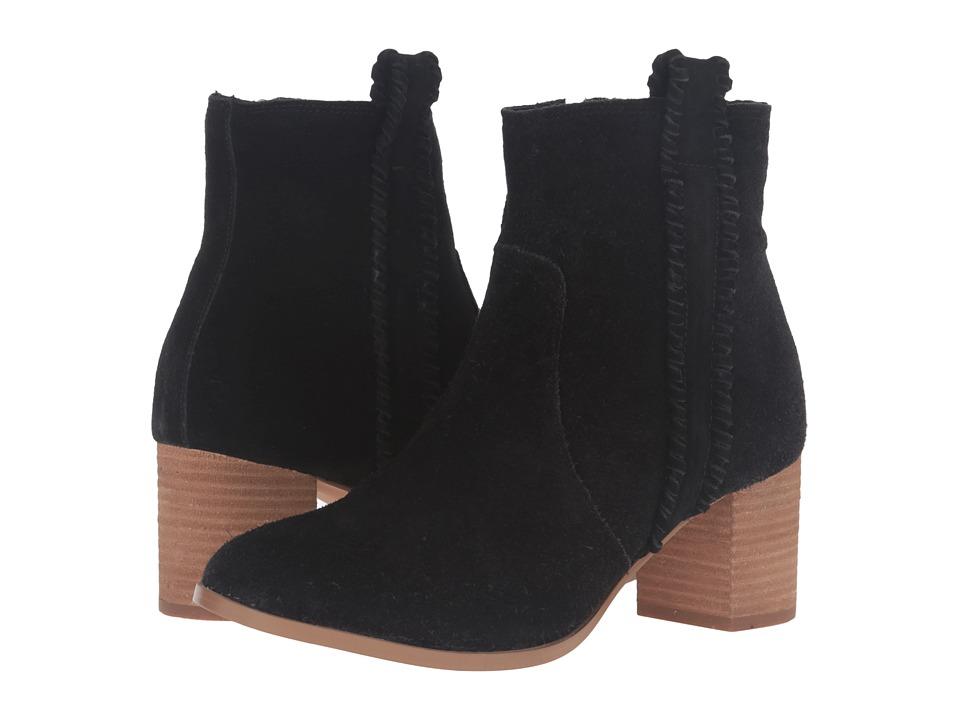 Matisse Trina (Black Leather Suede) Women