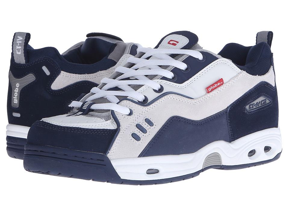 Globe - CT-IV Classic (White/Blue) Mens Skate Shoes