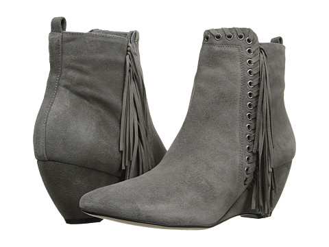 Matisse Sissy - Grey Leather Suede