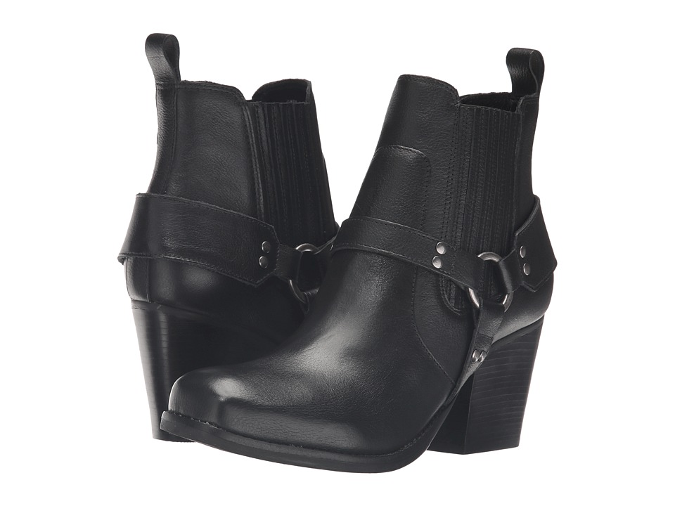 Matisse Jasmin (Black Leather) Women