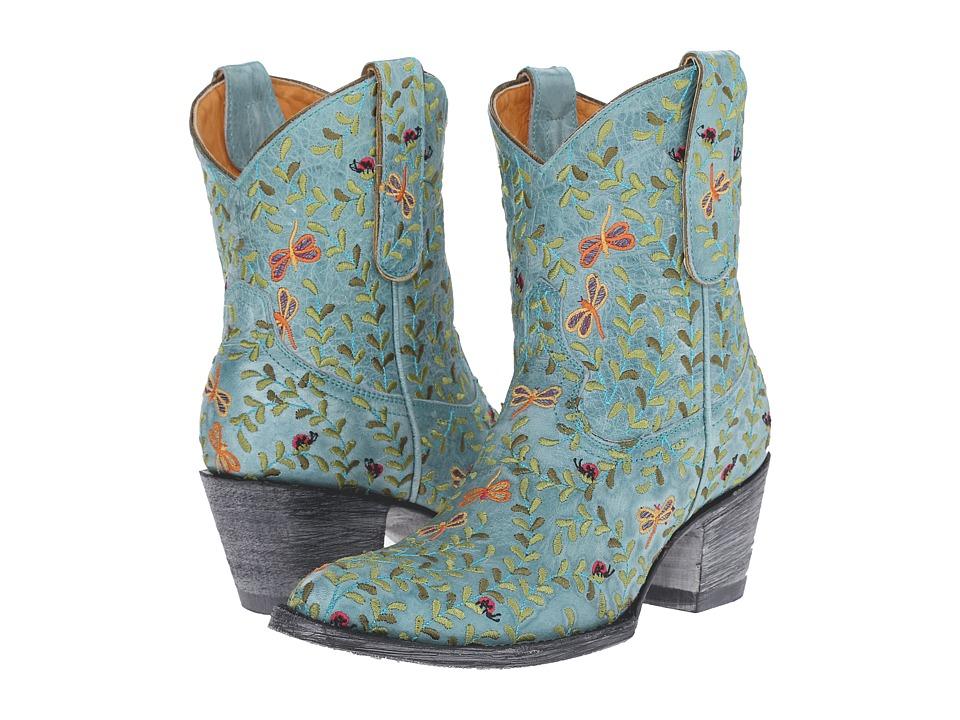 Old Gringo Dragon Fly Aqua Womens Shoes