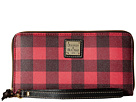 Dooney & Bourke Tucker Large Zip Around Wristlet