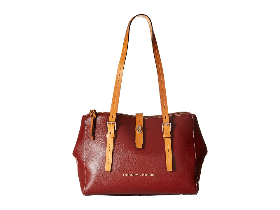 Dooney & Bourke - Claremont Miller Shopper (Cranberry) Tote Handbags