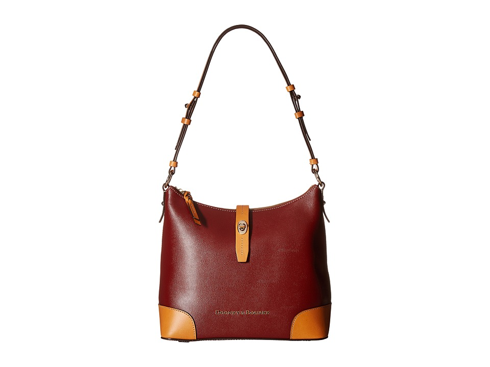 Dooney & Bourke - Claremont Hobo (Cranberry) Hobo Handbags