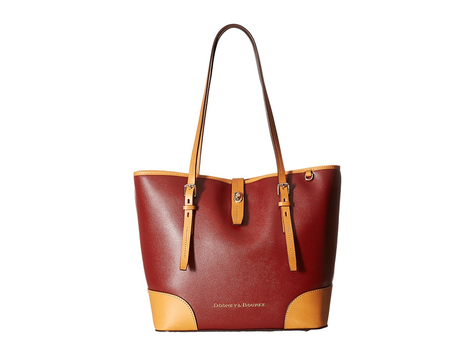 Dooney & Bourke - Claremont Dover Tote (Cranberry) Tote Handbags