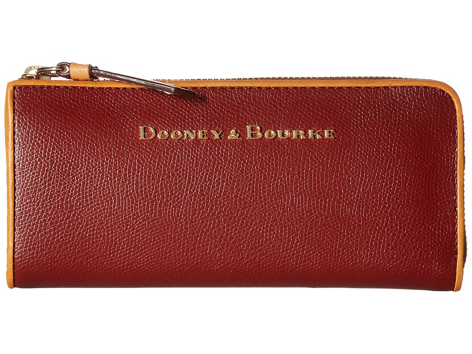 Dooney & Bourke - Claremont Zip Clutch (Cranberry) Clutch Handbags